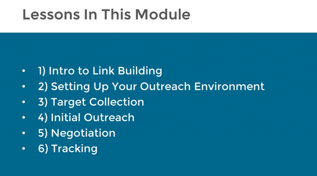 Authority Site Link Building