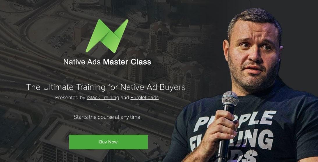 James Van Elswyk Native Ads Masterclass Review