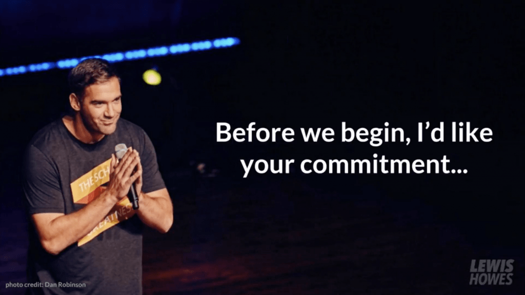 7 Figure Webinars Lewis Howes Commitment