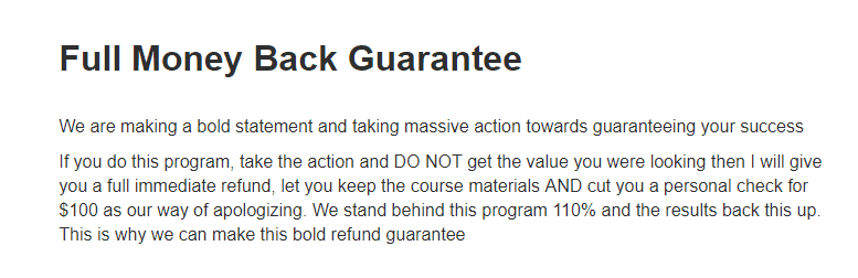 8X Hero Academy Money Back Guarantee