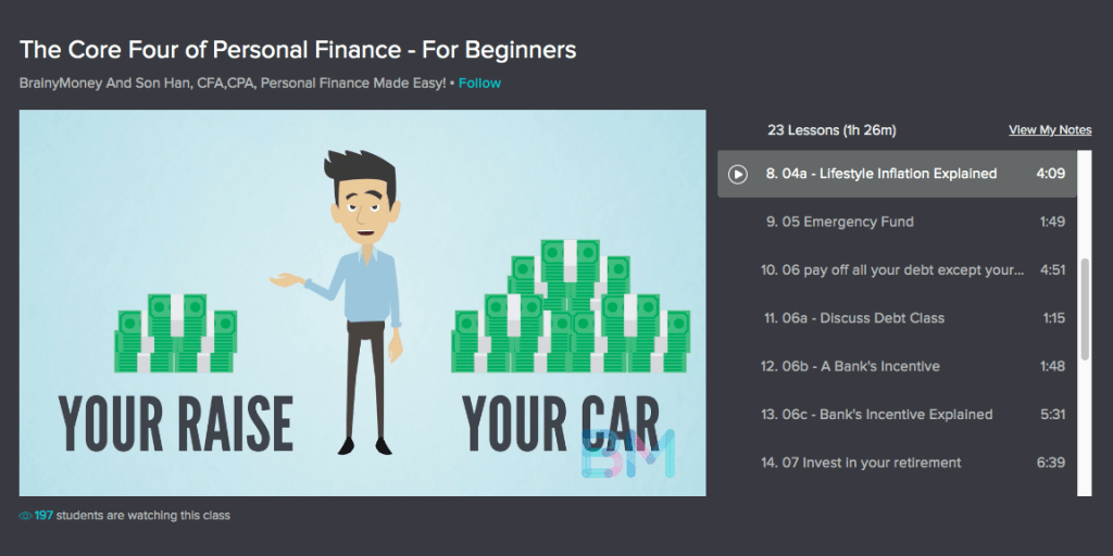 Best Personal Finance Courses Core Four