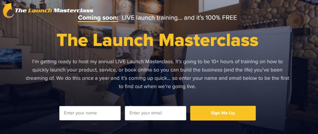 Jeff Walker Product Launch Formula Live Launch