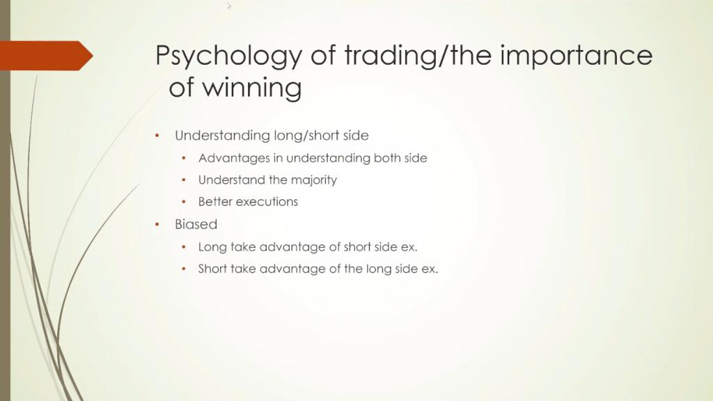 Steven Dux Trading Techniques - Psychology