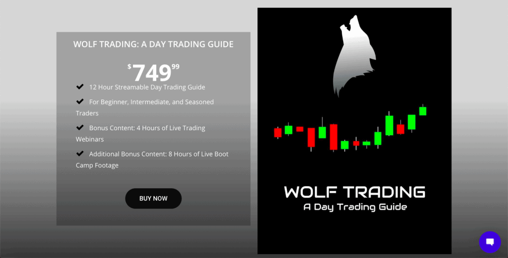Best Day Trading Courses - Wolf Trading