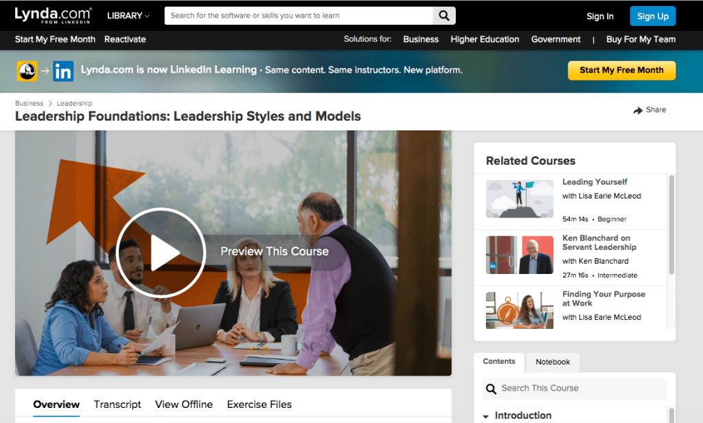 Best Leadership Courses - Leadership Foundations Course