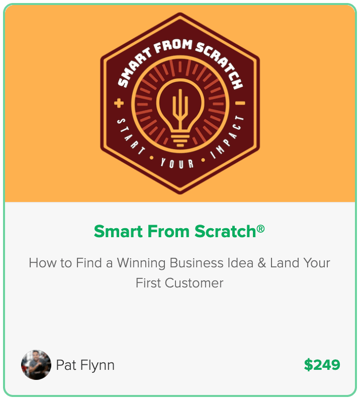 Pat Flynn Smart From Scratch Course - Pricing