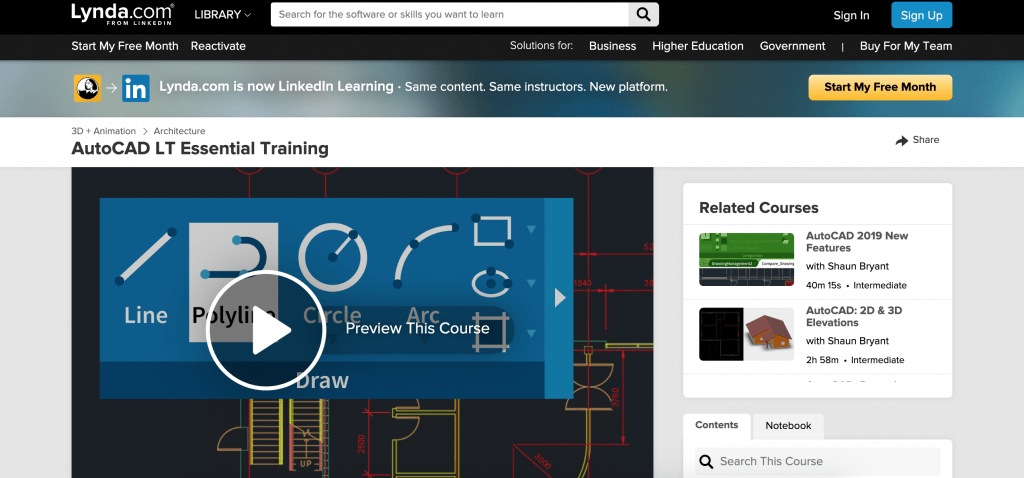 AutoCAD LT Essential Training-Lynda