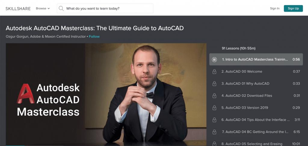 Autodesk AutoCAD Masterclass-Skillshare