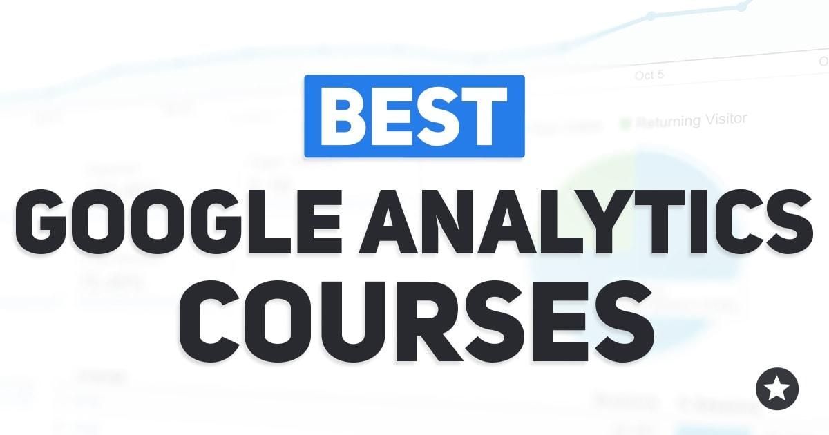 Best Google Analytics Courses