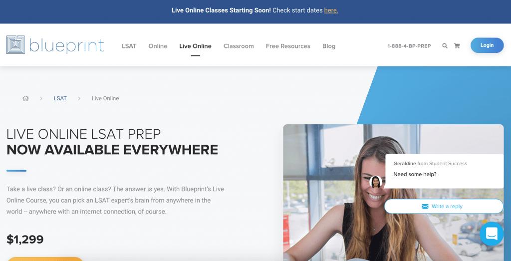 Blueprint Live Online LSAT Prep