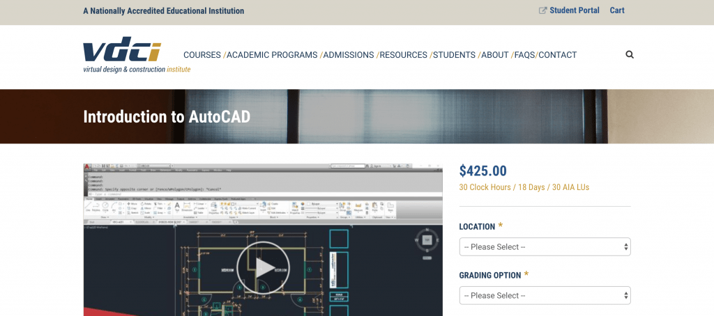 Introduction to AutoCAD-VDCI