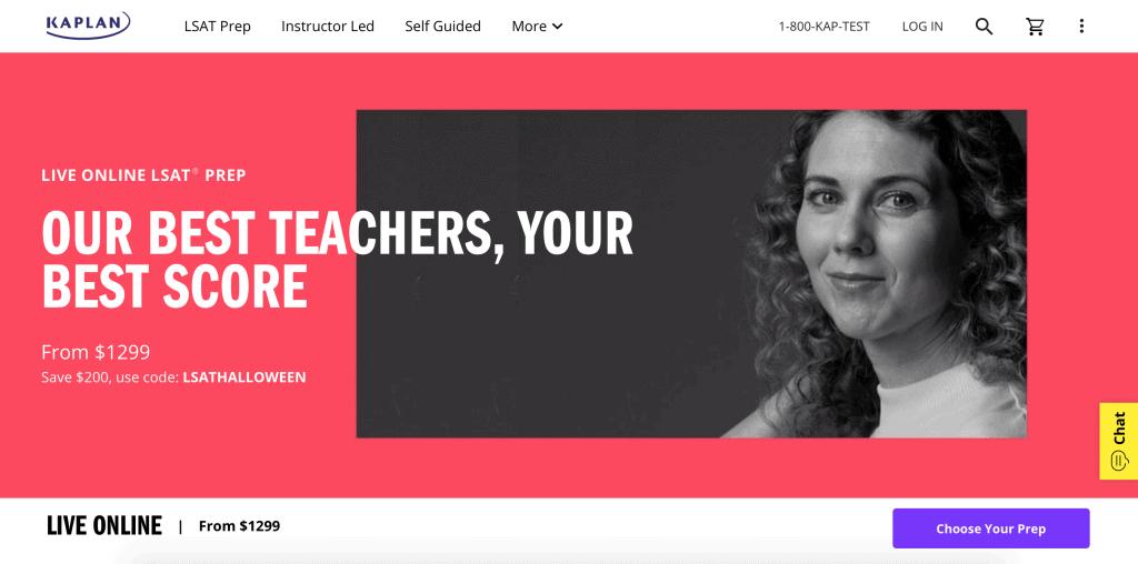 Kaplan Live Online LSAT Prep Course