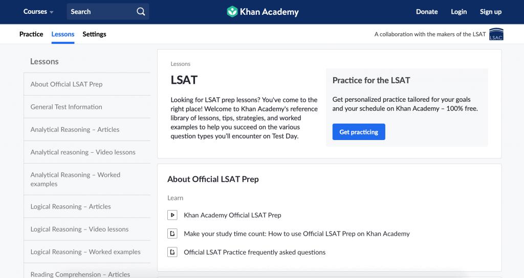 Khan Academy LSAT Videos
