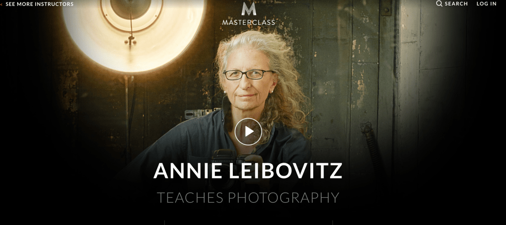 Masterclass Annie Leibovitz Teaches Photography