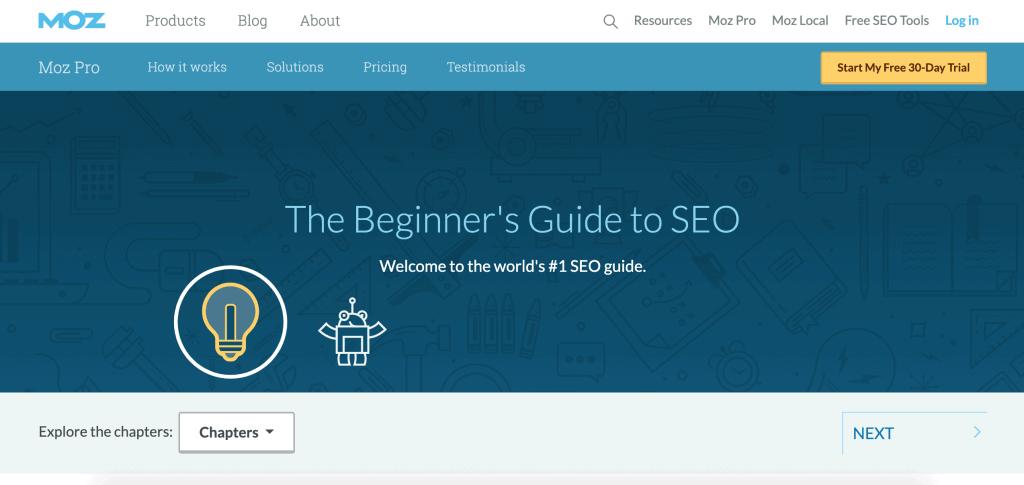SEO 101 The Beginner's Guide-Moz
