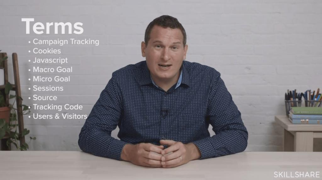 Skillshare Fundamentals of Google Analytics