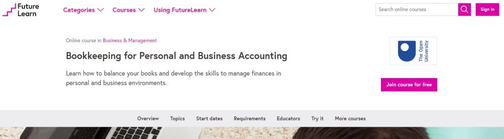 Bookkeeping And Personal Business Accounting