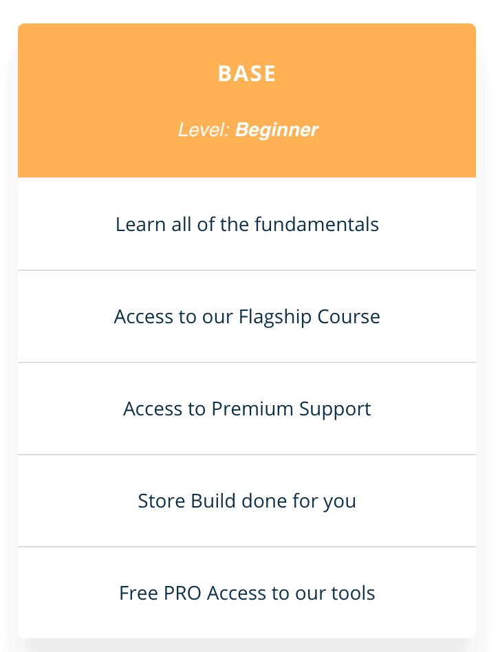 Ecom Hacks Academy Beginner