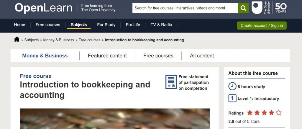 Introduction Bookkeeping And Accounting