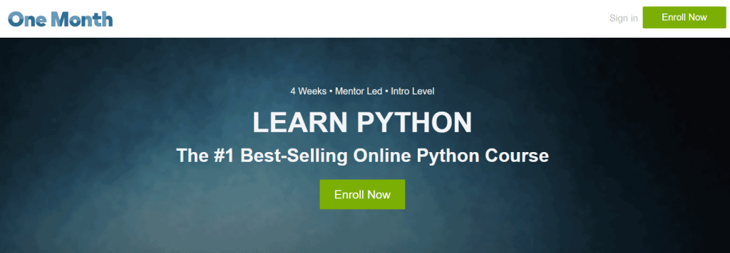 Learn Python (OneMonth) Course