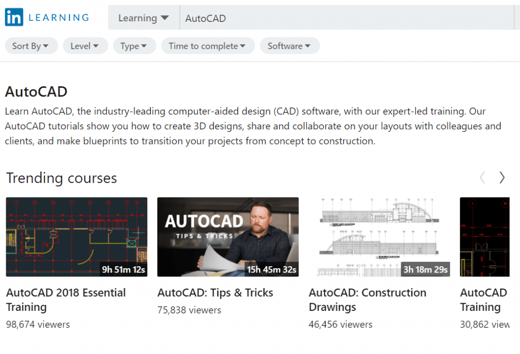 AutoCAD 2019 Essential Training - LinkedIn Learning
