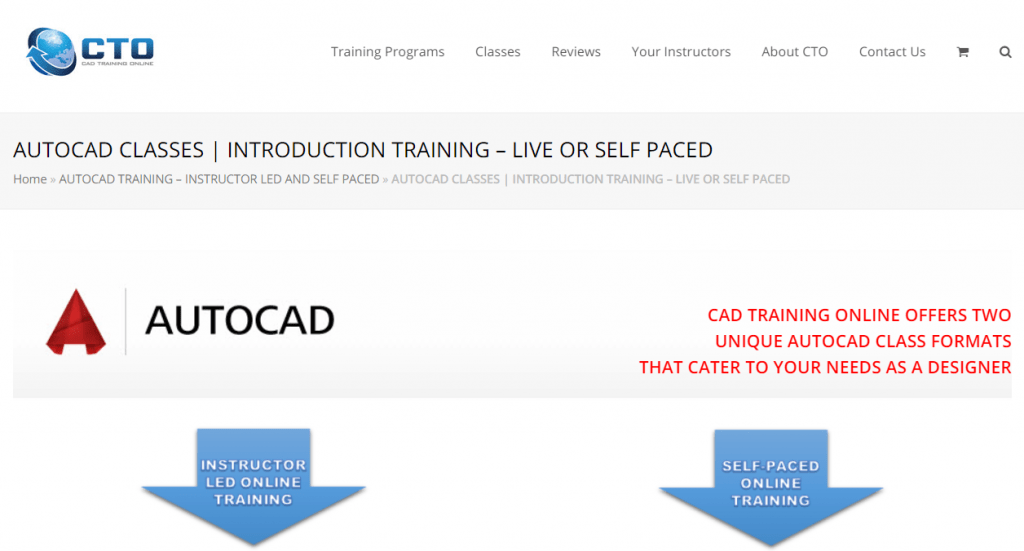 AutoCAD Introduction Training - CAD Training Online