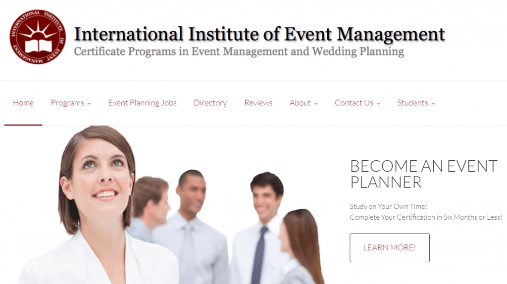 Certificate Programs in Event Management