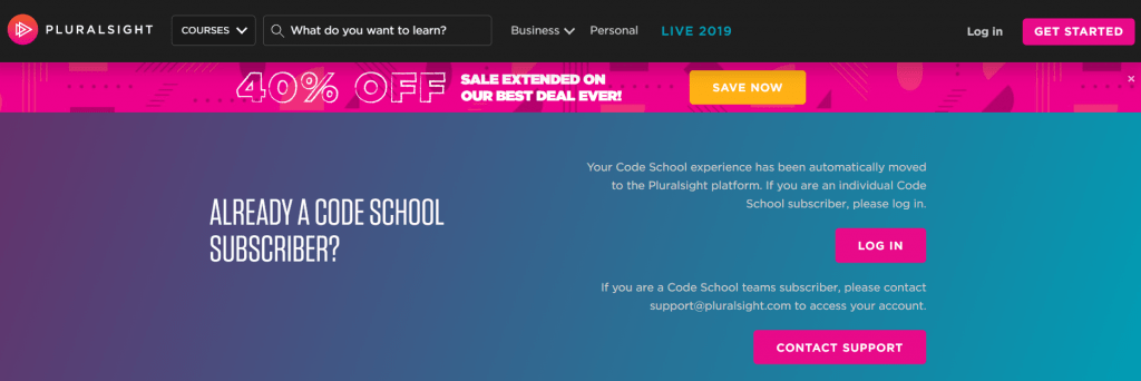Code School - Pluralsight