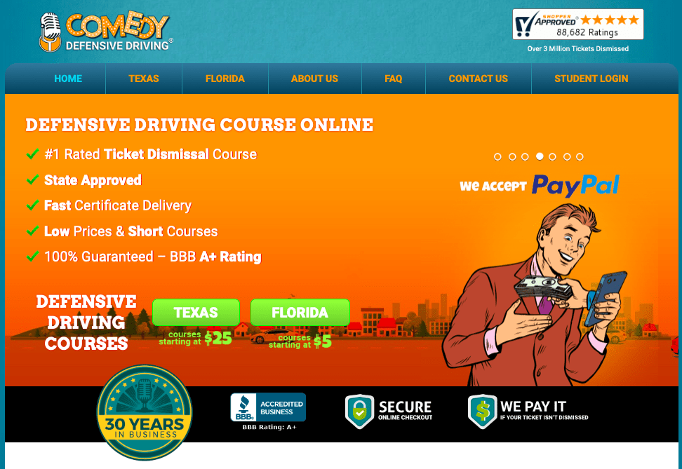Defensive Driving Courses by Comedy Defensive Driving