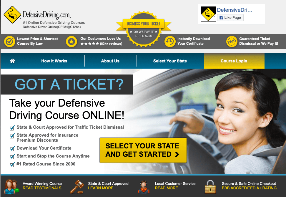 Defensive Driving Courses by DefensiveDriving.com