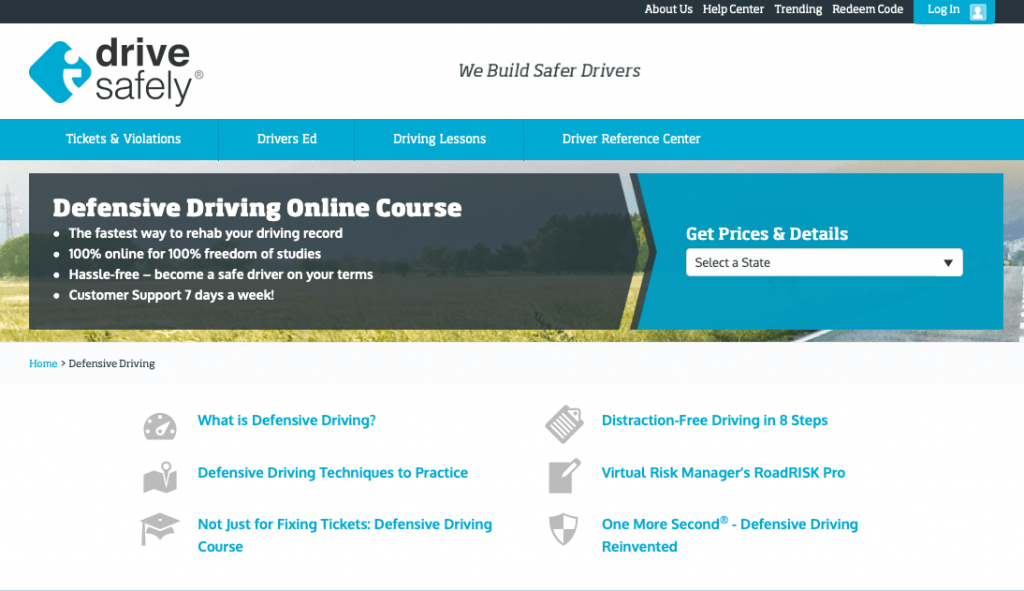 Defensive Driving Online Course by Drive Safely