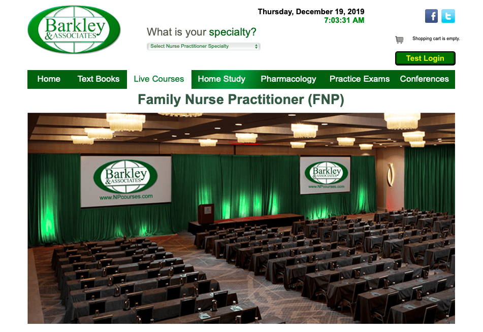 Family Nurse Practitioner (FNP) Live Course