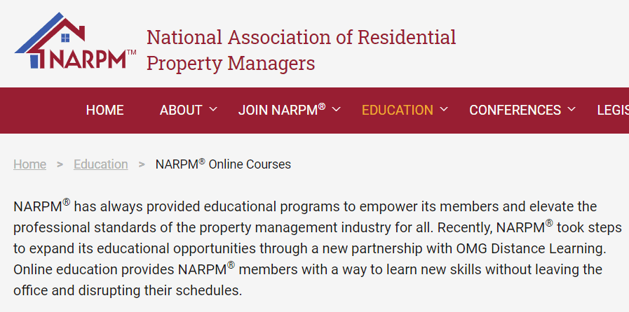Finance and Property Management — NARPM