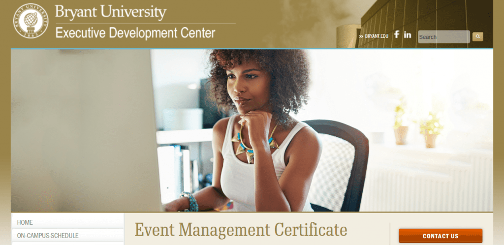 Five-Course Certificate Program - Bryant University