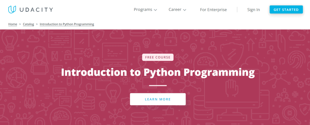 Introduction to Python Programming - Udacity