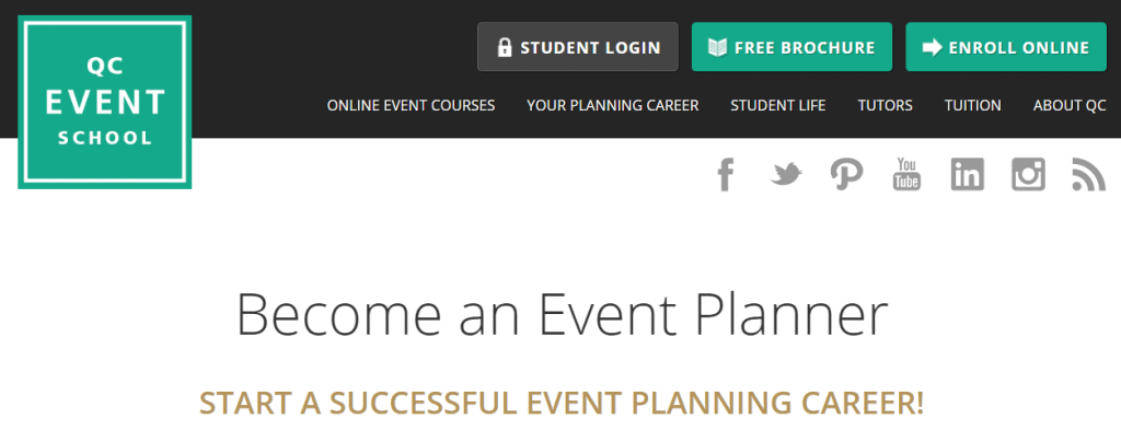 Online Event Planning Courses - QC Event School