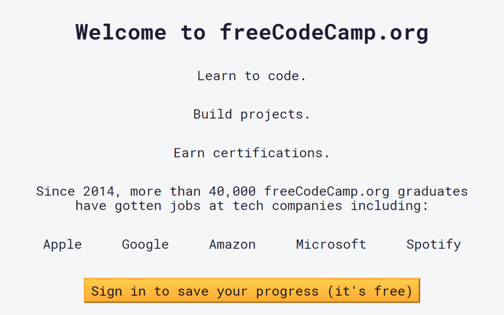 Responsive Web Design Certification - Free Code Camp