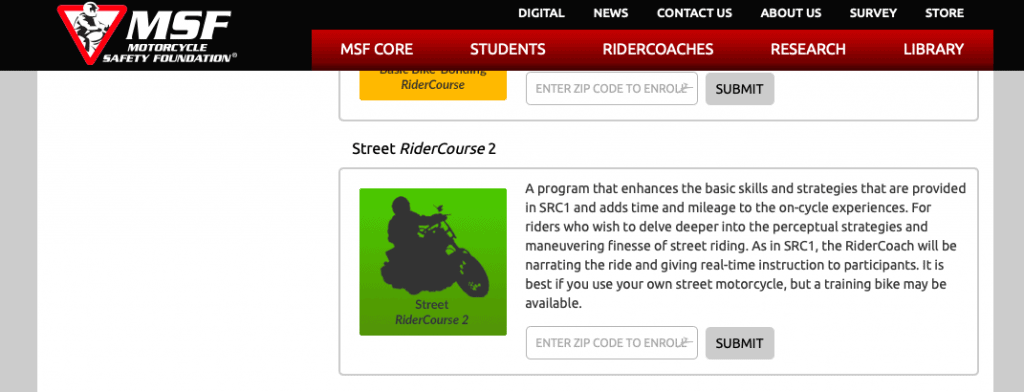 Street RiderCourse 2 by MSF
