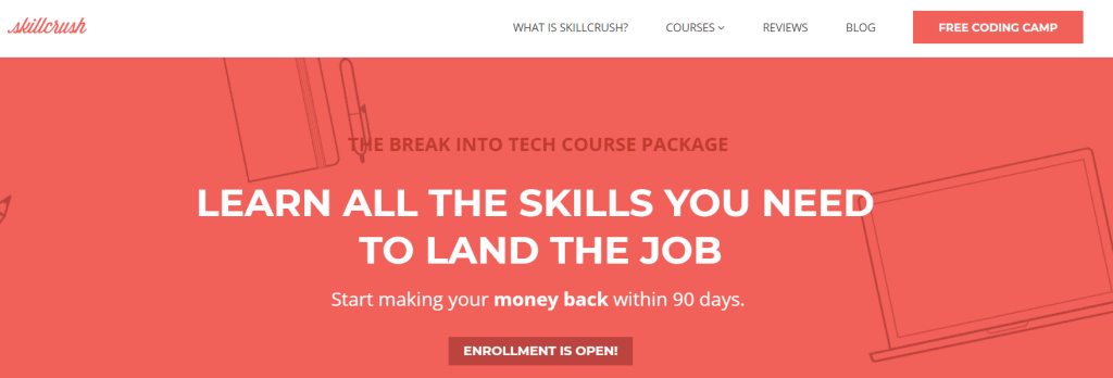 The Break into Tech Course Package - Skillcrush