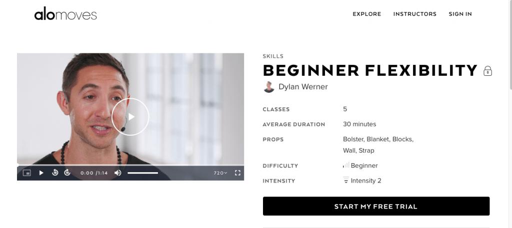 Beginner Flexibility — Alo Moves