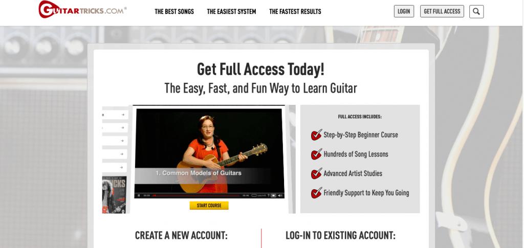 GuitarTricks Course