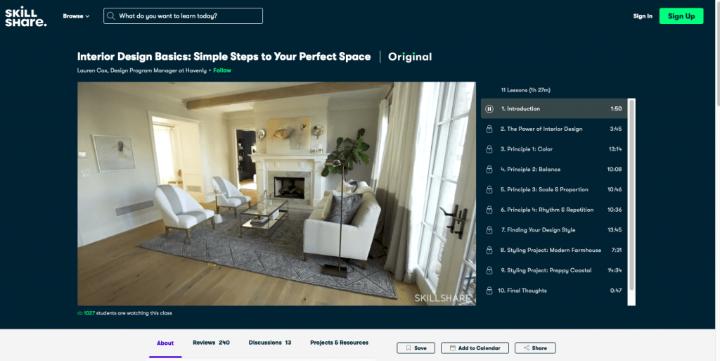 Interior Design Basics Simple Steps to Your Perfect Space By Skill Share