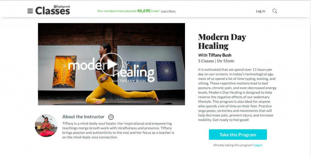 Modern Day Healing — Yogi Approved
