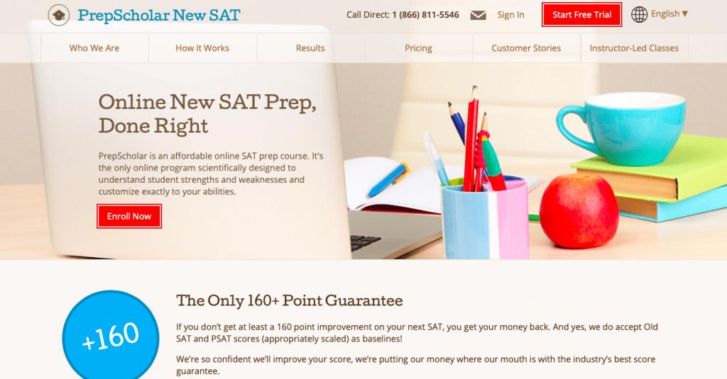 New SAT Prep Online Course PrepScholar