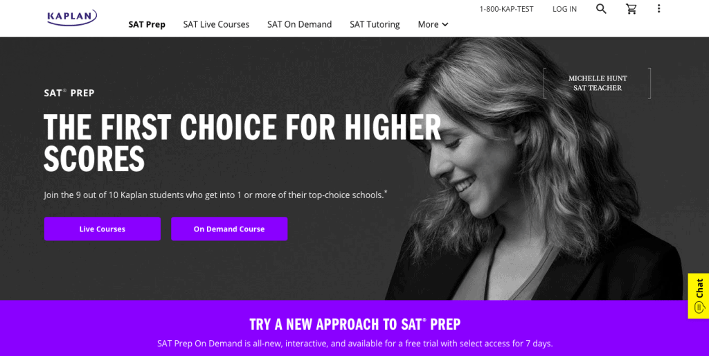 Online SAT Prep Classes from Kaplan