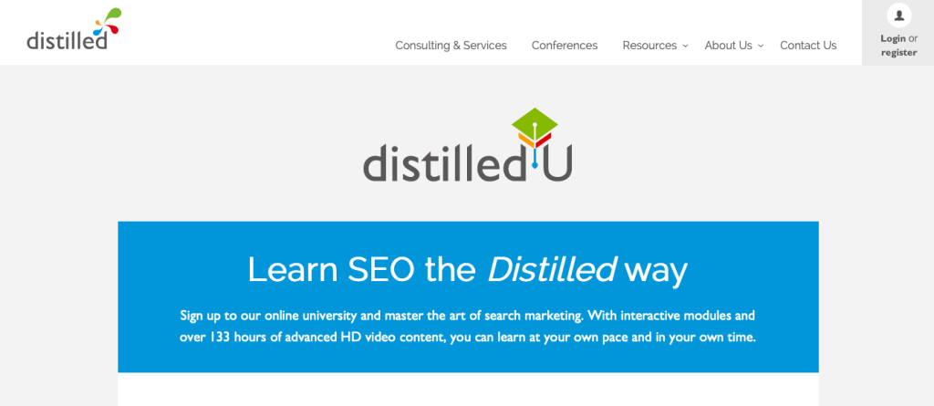 SEO 101 by DistilledU