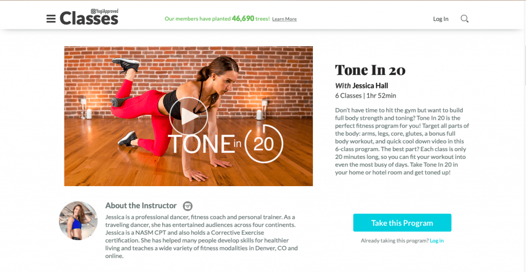 Tone In 20 — Yogi Approved