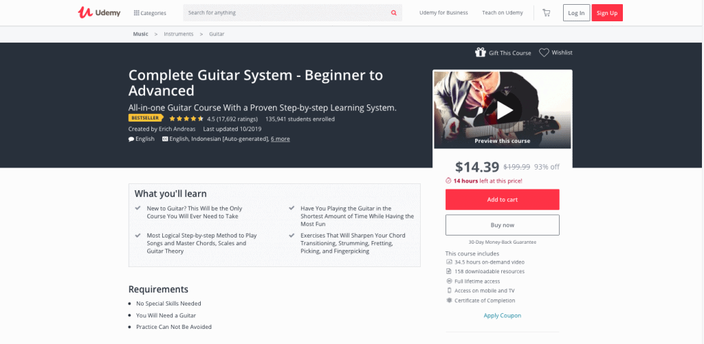 Udemy Page Link