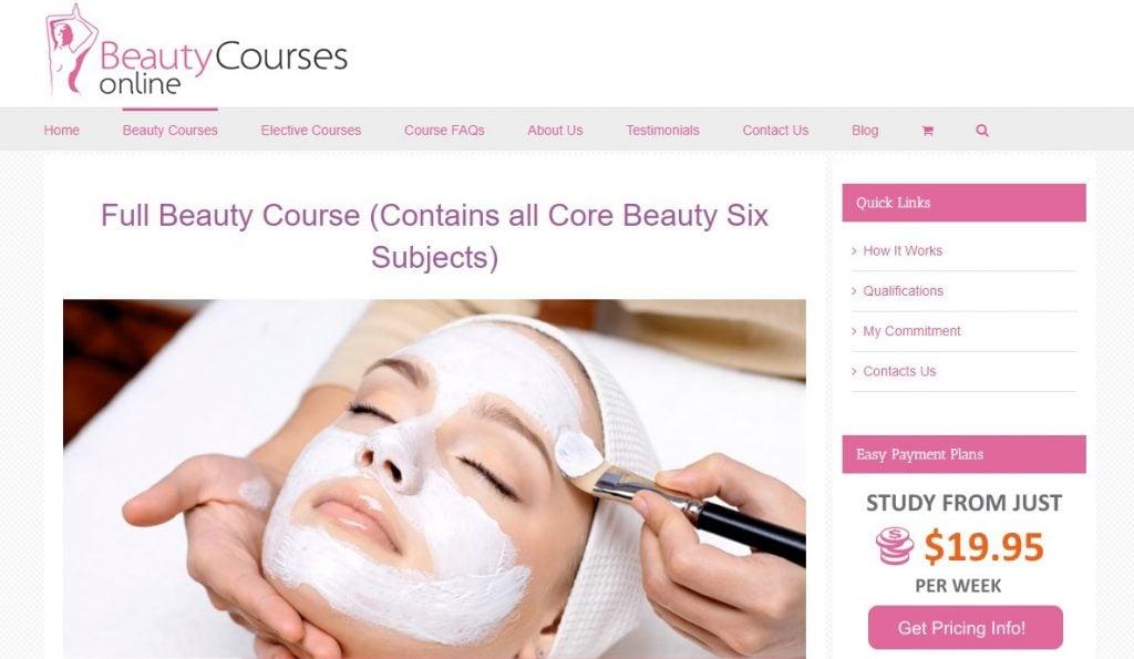 Beauty Courses Online