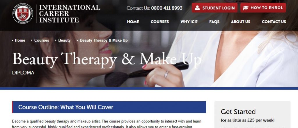 Beauty Therapy - ICI